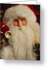Santa Claus - Antique Ornament - 17 Greeting Card by Jill Reger