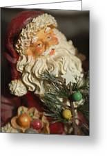 Santa Claus - Antique Ornament - 18 Greeting Card
