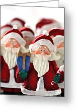 Santa Claus' Army  Greeting Card by Sophie Vigneault