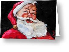 Santa Claus Greeting Card by Carole Foret