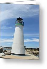 Santa Cruz Lighthouse Greeting Card