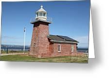 Santa Cruz Lighthouse Surfing Museum California 5d23940 Greeting Card