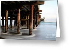Santa Cruz Pier California Greeting Card