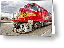 Santa Fe 95 In Retirement Greeting Card