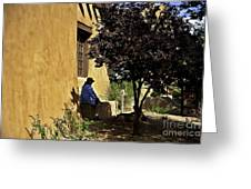 Santa Fe Afternoon - New Mexico Greeting Card