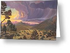 Santa Fe Baldy Greeting Card
