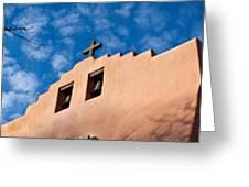 Santa Fe Church Greeting Card
