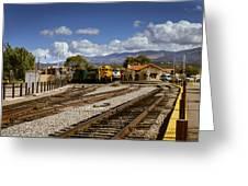 Santa Fe Rail Road Greeting Card