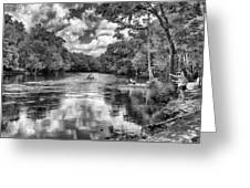 Santa Fe River Park Greeting Card