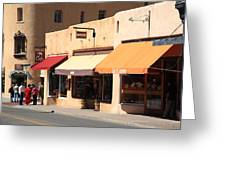 Santa Fe Shops Greeting Card