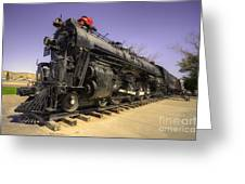 Santa Fe Steam Greeting Card