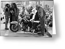 Santa Helpers Greeting Card