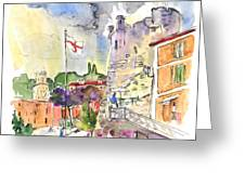 Santa Margherita In Italy 07 Greeting Card