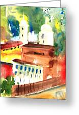 Santa Margherita In Italy 13 Greeting Card