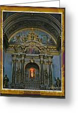 Santa Maria Church In Assisi Italy Greeting Card