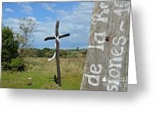 Santa Maria De Fe Greeting Card