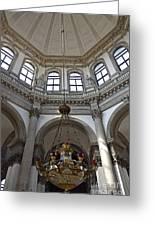 Santa Maria Della Salute Church Greeting Card by Sami Sarkis