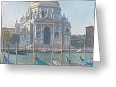 Santa Maria Della Salute Greeting Card by Julian Barrow