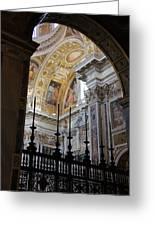 Santa Maria Maggiore Greeting Card