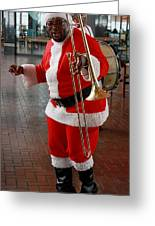 Santa New Orleans Style Greeting Card