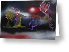 Santa Magic Greeting Card