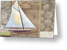 Santa Rosa Boat II Greeting Card