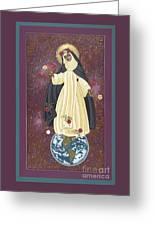 Santa Rosa Patroness Of The Americas 166 Greeting Card