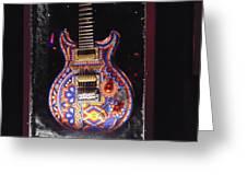 Santana Guitar Greeting Card