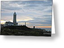 Santander Lighthouse - Spain Greeting Card
