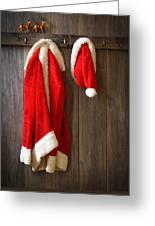 Santa's Coat Greeting Card