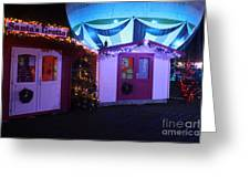 Santa's Grotto In The Winter Gardens Bournemouth Greeting Card