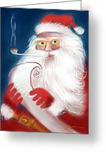 Santa's List Greeting Card