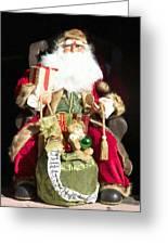 Santa's List Two Greeting Card