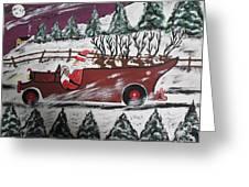 Santa's Truckload Greeting Card