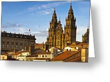 Santiago De Compostela Cathedral Galicia Spain Greeting Card