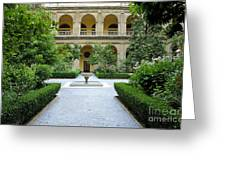 Santo Domingo Courtyard Greeting Card