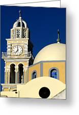 Santorini 12 Greeting Card