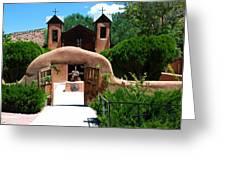 Santuario De Chimayo Greeting Card