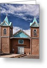 Santuario De San Lorenzo Greeting Card