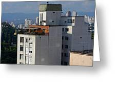 Sao Paulo Penthouse Greeting Card