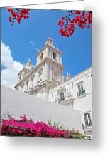 Sao Vicente De Fora Church In Lisbon Greeting Card