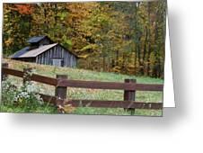 Sap Barn Or House Greeting Card