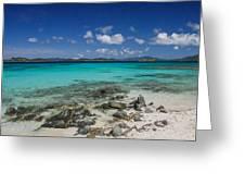 Saphire Beach Greeting Card