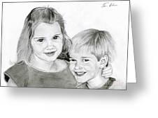 Sarah And Matt Greeting Card
