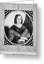 Sarah Childress Polk (1803-1891) Greeting Card