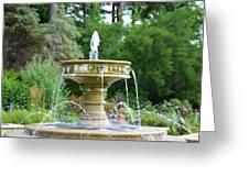 Sarah Lee Baker Perennial Garden 6 Greeting Card