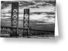 Sarah Long Bridge  Greeting Card