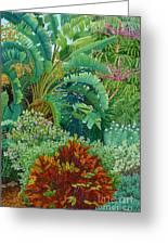 Sarasota Garden Greeting Card