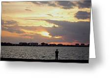 Sarasota 's Sunset Greeting Card