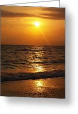 Sarasota Sunset Florida Greeting Card